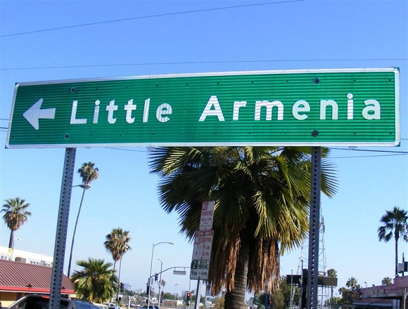 little-armenia-sign